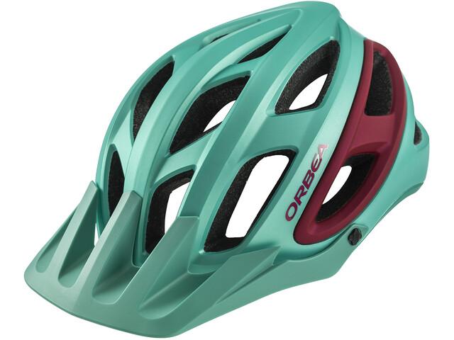 ORBEA M 50 - Casco de bicicleta - rojo/Turquesa